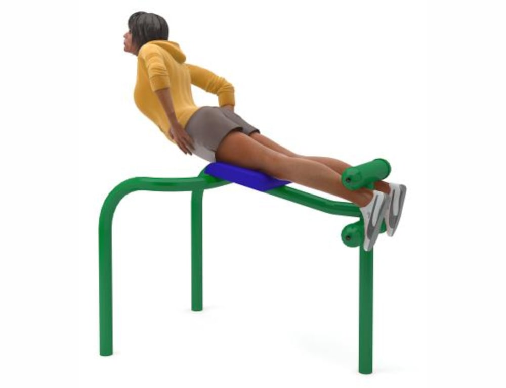 Hyperextension Bench фото
